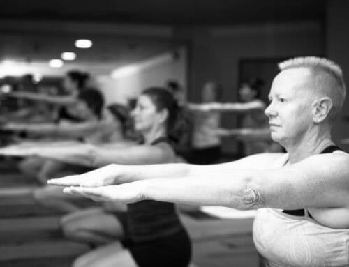 """Yoga continues to keep me sane"""
